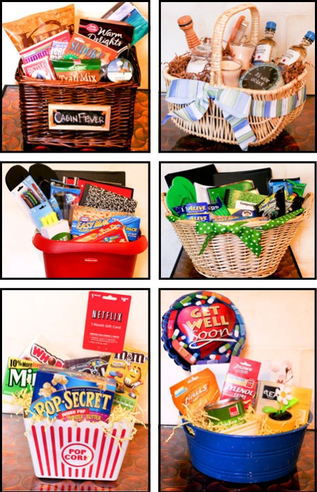 individual pictures of baskets